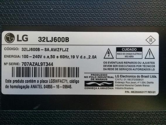 Placa Principal LG 32lj600b Completa.