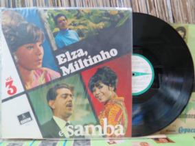 Elza Miltinho & Samba Vol.3 Maestro Nelsinho Lp Odeon 1969