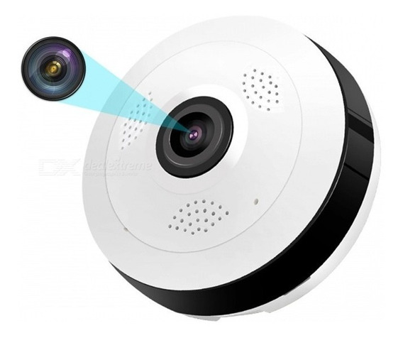 Esamact Wifi Mini Ip Câmera 360 Grau Casa Segurança Sem Fio
