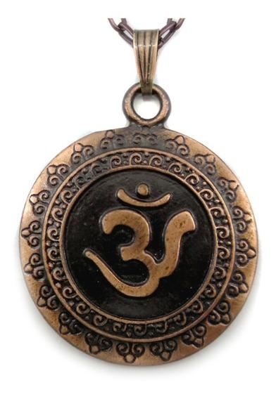 Colar Símbolo Om Mantra Mais Importante Do Hinduísmo Aum