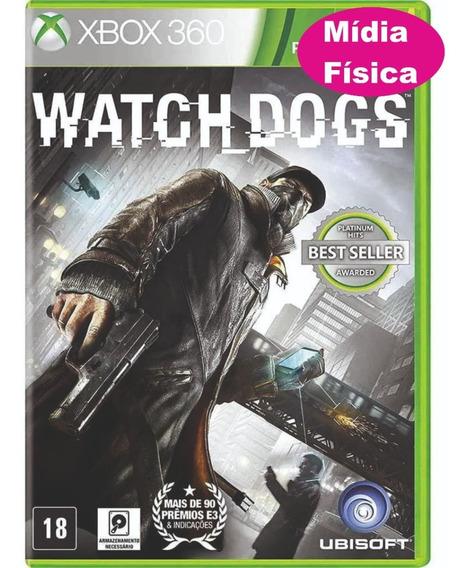 Jogo Xbox360 Original Watch Dog Mídia Física Pronta Entrega