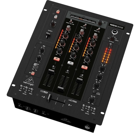 Mixer Dj Behringer Promixer Nox303 3 Canais