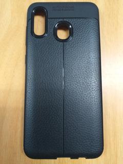 Forro Estuche Fibra De Carbono Para Samsung A30 / A50