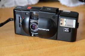 Olympus Xa Rangefinder + Flash + Estojo
