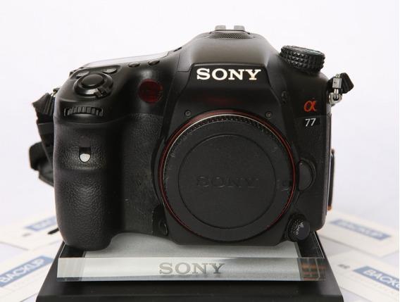 Câmera Dslr Sony Alpha A77 Corpo