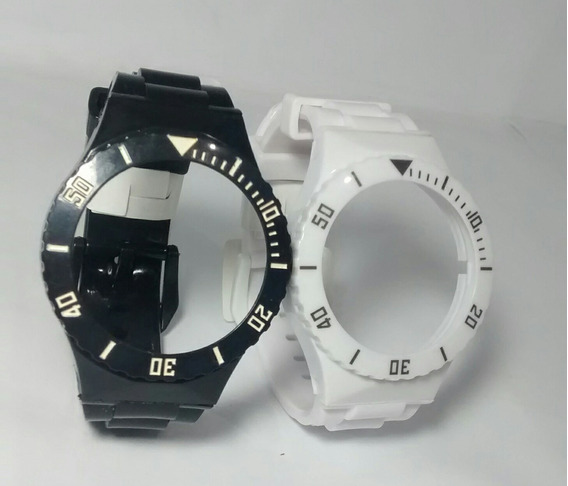 Pulseira P/ Relógio Troca Pulseiras Kit Com 2 Pulseiras