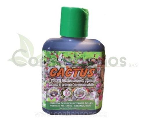 Fertilizante Cactus Y Suculentas Confiabonos (100% Orgánico)