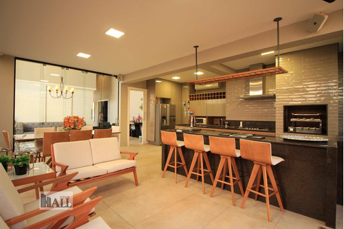Casa À Venda No Condomínio Damha Vi Com 4 Quartos 278m², 4vagas - V6758