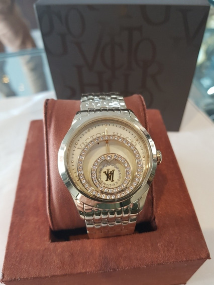 Relógio Feminino Victor Hugo - Vh10120lsg/54m