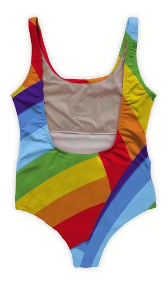 Body Maiô Praia Primavera Arco-íris Rainbow Lgbt Gls Tumblr