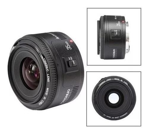 Yongnuo 35mm F/2 Para Canon + Brinde
