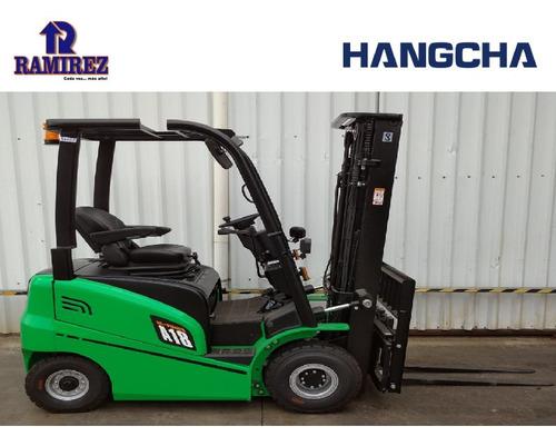 Autoelevador Montacarga Electrico Hangcha 1800 Kg - Litio