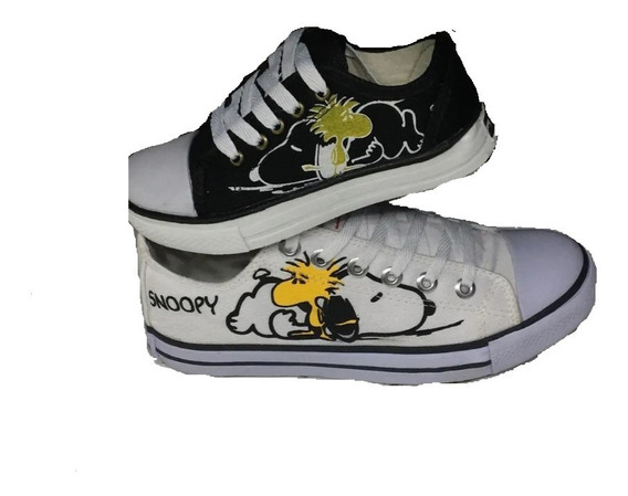 Tênis All Star Converse Snoopy Unissex Adulto E Infantil