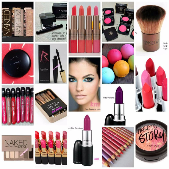Maquillaje Lote Navideño Mac Orly 60 Productos Revendedores