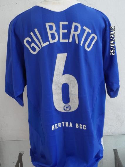 Camisa Hertha Berlin Gilberto N#6
