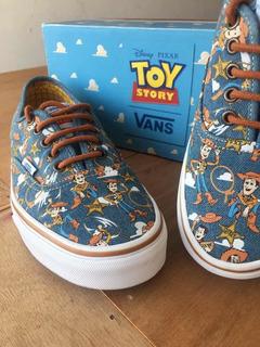 Tenis Vans Toy Story Woody Talla 27 Para Coleccionistas