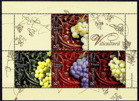 2005 Uvas- Vinos- Viticultura - Rumania (serie) Mnh