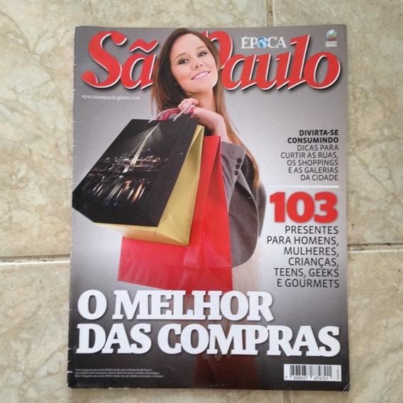 Revista Época São Paulo Ed. 1 O Melhor Das Compras Em Sp