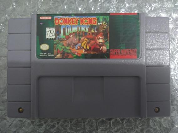 Donkey Kong Country Original Americana Super Nintendo