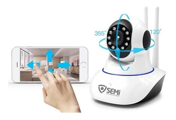 Câmera Segurança Infravermelho Controle Remoto Via Celular