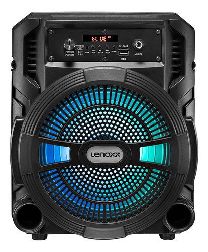 Caixa Amplificada Lenoxx Ca 80 Multiuso Bluetooth Potência 1