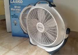 Abanico Wind Machine Lasko De Piso