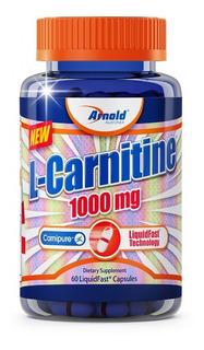 L-carnitina 1000mg - Thermo - 60 Cápsulas - Arnold Nutrition