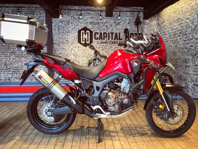 Capital Moto México Equipada Honda Africa Twin Apenas 800 Km