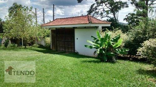 Chácara Com 3 Dormitórios À Venda, 900 M² Por R$ 550.000 - Recreio Santa Rita - Suzano/sp - Ch0043