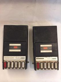 Rádio Gravador Aiko Lote C/2 Antigo