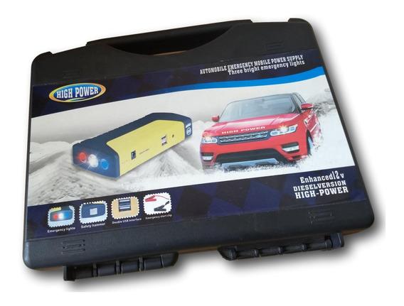 Auxiliar De Partida Bateria Portatil Veicular High/power.