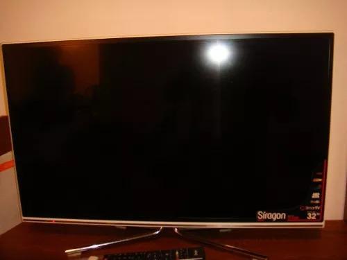 Tv Led Smartv Siragon 32 Pulgadas, Acepto Cripto