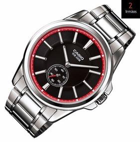 Relógio Casio Prateado Mtp E101zd