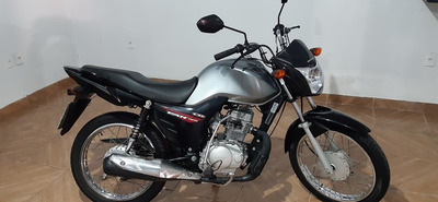 Honda Cg 125 Fan Ks 2015 Prata