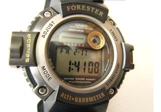 Reloj Casio Forester Fts-100 Altimetro Barometro Sensor Sum.