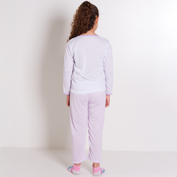 Pijama Infantil No Atacado De Calça E Blusa - Kit Com 5 Pijama De Frio Infantil