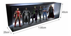 Expositor Estante Led -action Figures Hot Toys 1/6 - Marvel