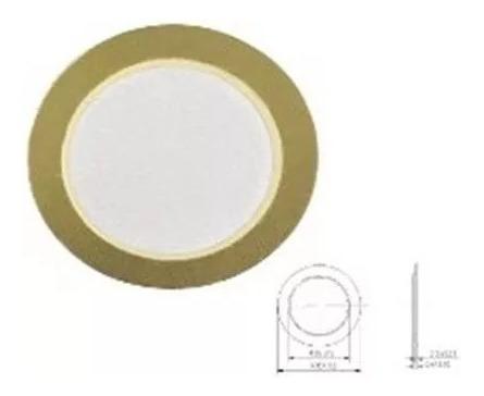 Transdutor Piezo Piezoeletrico Disco 20 Mm Pct 25 Pecas