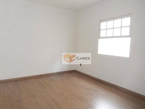 Casa Com 3 Dormitórios À Venda, 120 M² Por R$ 350.000 - Jardim Chapadão - Campinas/sp - Ca2618