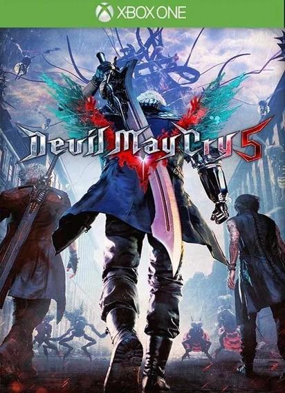 Devil May Cry 5 Mídia Digital Xbox One Pra Sempre Seu