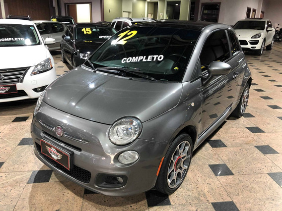 Fiat 500 1.4 Sport Air 16v Gasolina 2p Manual 2011 2012