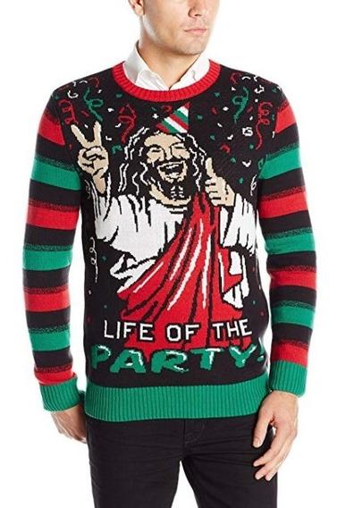 Sueter Feo Navidad Jesus Bday Ugly Sweater