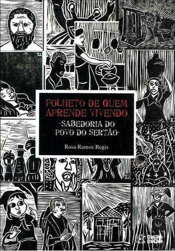 Imagem 1 de 1 de Folheto De Quem Aprende Vivendo Sabedoria Do Povo Do Sertão