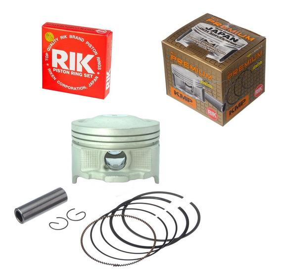 Pistão Taxado Crf 230 P/ 240cc Kmp Anel Rik 2mm 67,50mm Kit