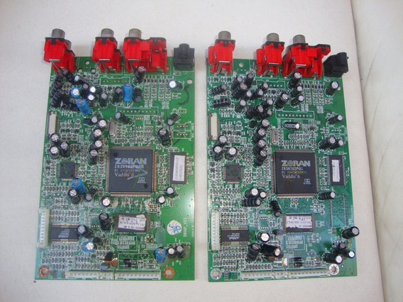 2 Placas Do Dvd Magnavox Mdv426 Com Defeito (leia Tudo)