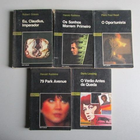5 Livros - Literatura Estrangeira -grandes Sucessos -lote 1