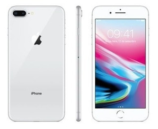 Apple iPhone 8 64gb Tela 4.7 12mp 4g Lte Prata Original