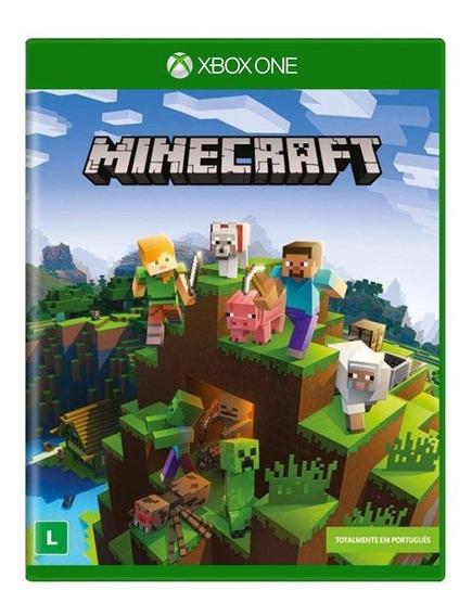 Minecraft Xbox One Mídia Física Original Em Português