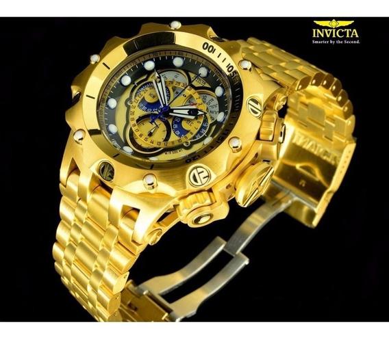 Relogio Invicta Reserve Venon Hybrid 16804 Gold 18k