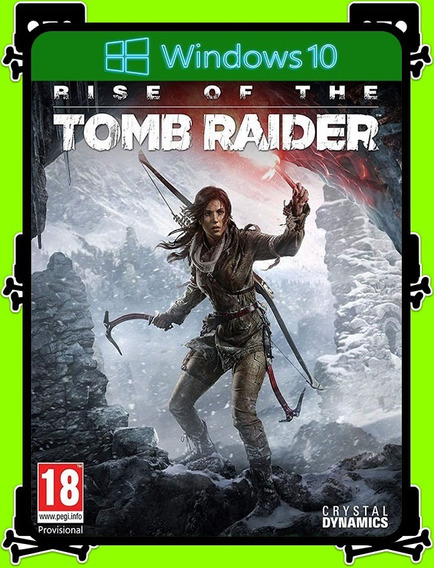 Rise Of The Tomb Raider Windows 10 - 100% Original (25 Díg.)
